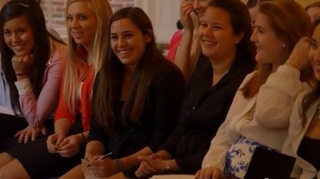 Video about the Elizabeth J. Somers Women's Leadership Program