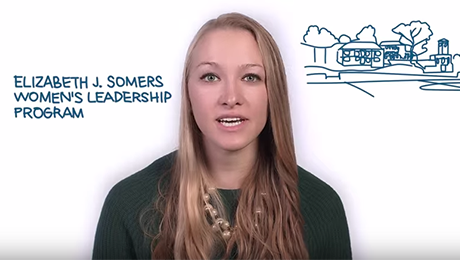 #OnlyAtGW: Women's Leadership Program Video