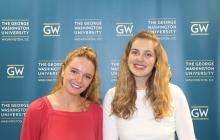 Chloe King '19 & Erin McGeoy (GWSB Alum)