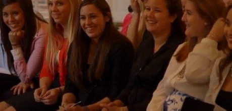 Video about the Elizabeth J. Somers Women's Leadership Program