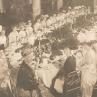 The senior banquet at the Willard Hotel in 1910
