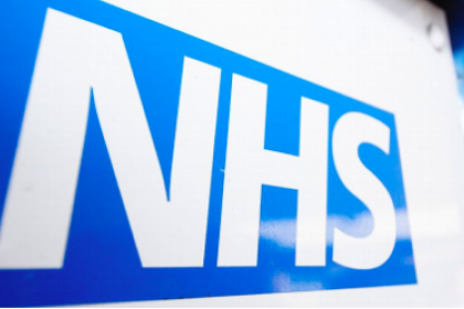 Photo of the NHS sign