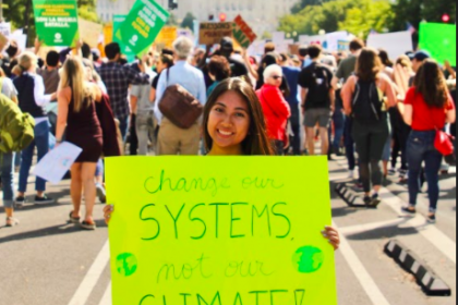Change systems, not our climate