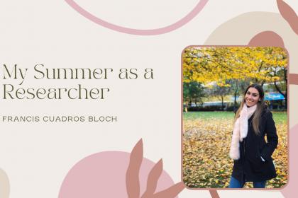 My summer as a researcher